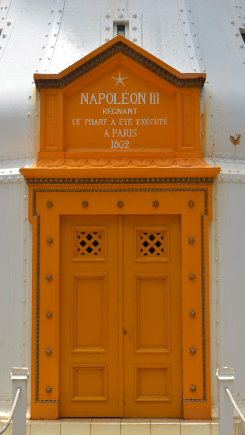 The entrance to Amédée Lighthouse (c) A. Harrison