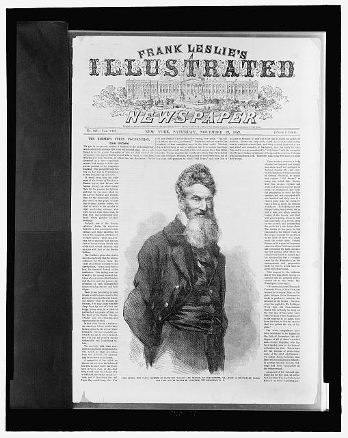 Newspaper Picture Of John Brown