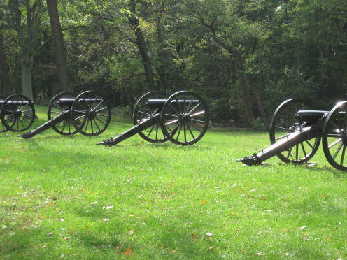 Civil War Cannons At Bolivar Heights Battlefield