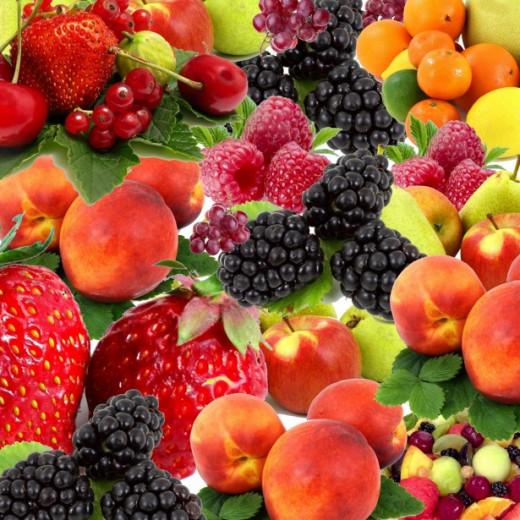 Potassium rich fruit