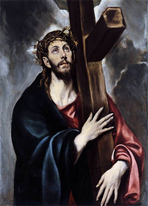 Jesus Christ by El Greco.