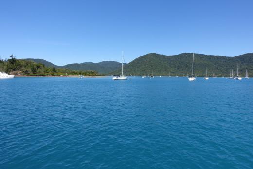 Leaving Shute Harbour