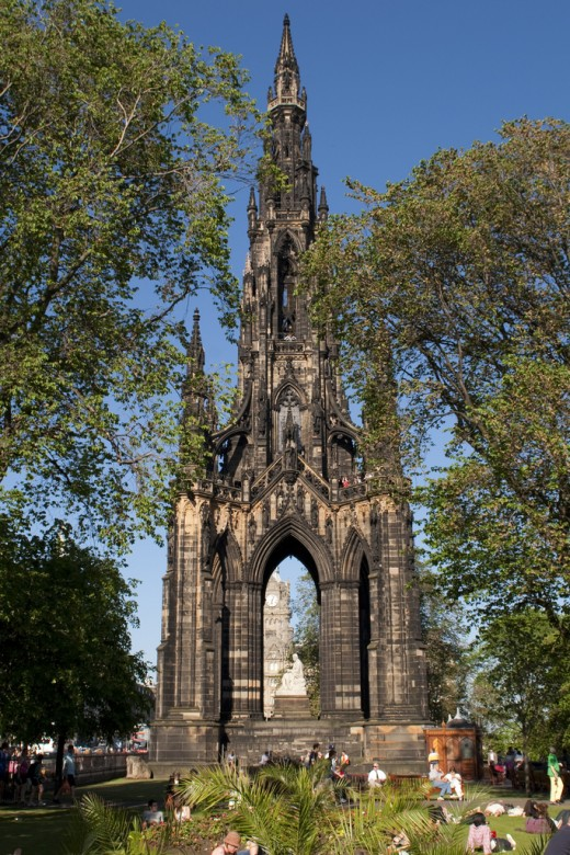 photo credit: Scott monument via photopin (license)