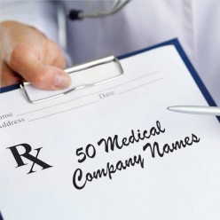 50 Medical Company Names