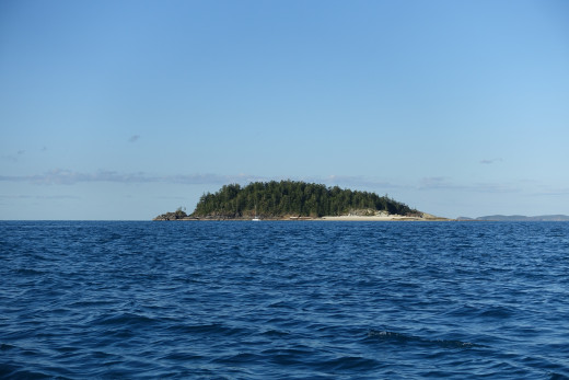 Border Island from a distance