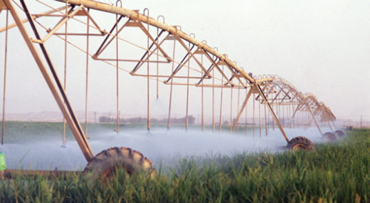 Water use in mechanized Farming-EXHAUSTIVE?