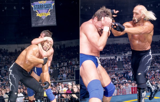 Hogan vs. Piper, two months after Havoc at Starrcade 1996