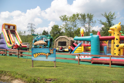 The Hopper bounce at the Chittenango Wild Animal Park.  A day that is filled with laughter and fun, not just the animals, but the bounce and so much more.