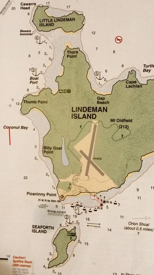 Lindeman Island Resort closed and under re-develeopment