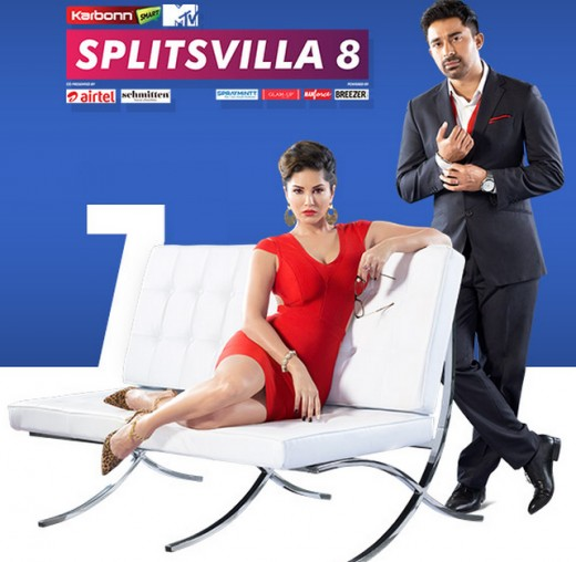Splitsvilla 8 with Rannvjjay Singh and Sunny Leone