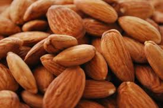 Almonds--Antioxidants rich foods