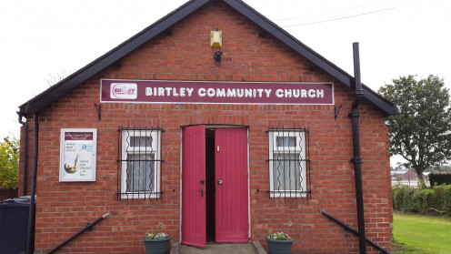 Snap shot of the friendly church we went to in Birtley.