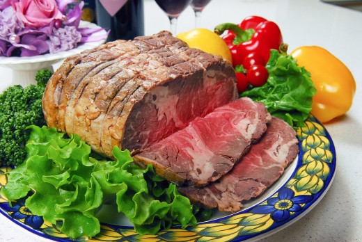 Raw and undercooked meat may contain pathogens and cause foodborne illness.