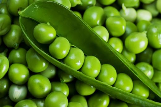 Green Peas, Vitamins Source
