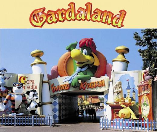 Entrance to Gardaland