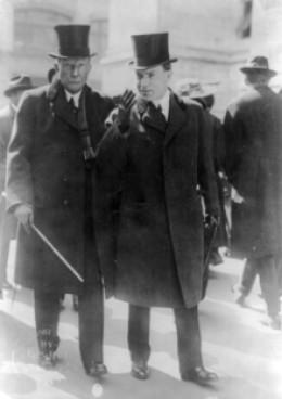 John D. Rockefeller, Sr. and John D., Jr.