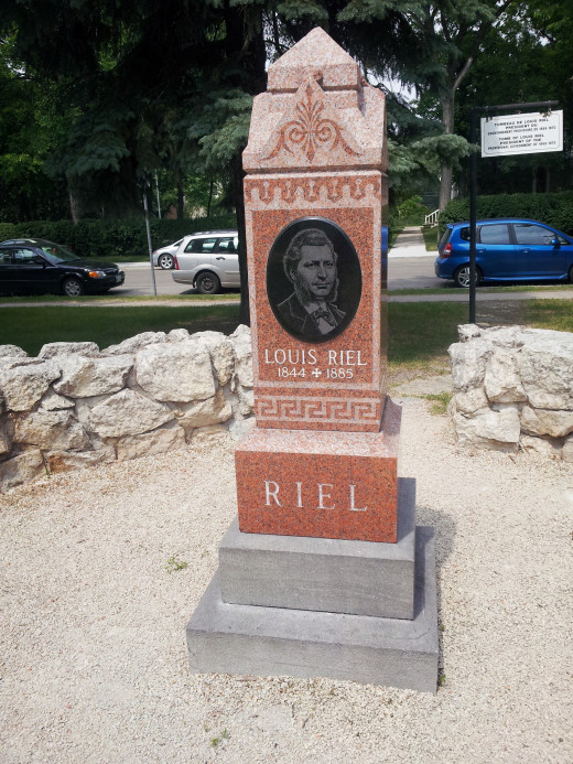 Louis Riel Gravesite, Winnipeg, Manitoba