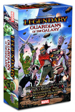 Board Game Review: Legendary Marvel- Guardians of the Galaxy