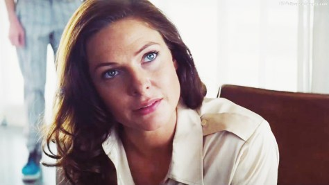 Rebecca Ferguson playing the part of Ilsa