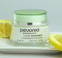 Pevonia skin lightening product