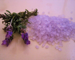 Mineral Bath Salts and Aromatherapy