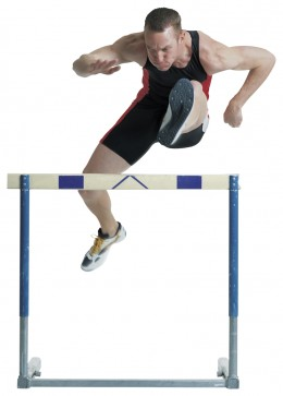 Hurdles are to be scaled