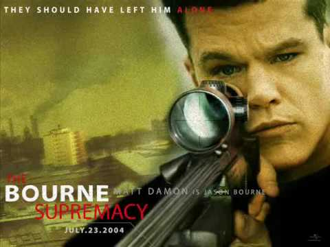 "Promotional poster for ""The Bourne Supremacy"""