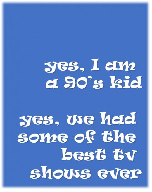 Nineties Kids Do It Better