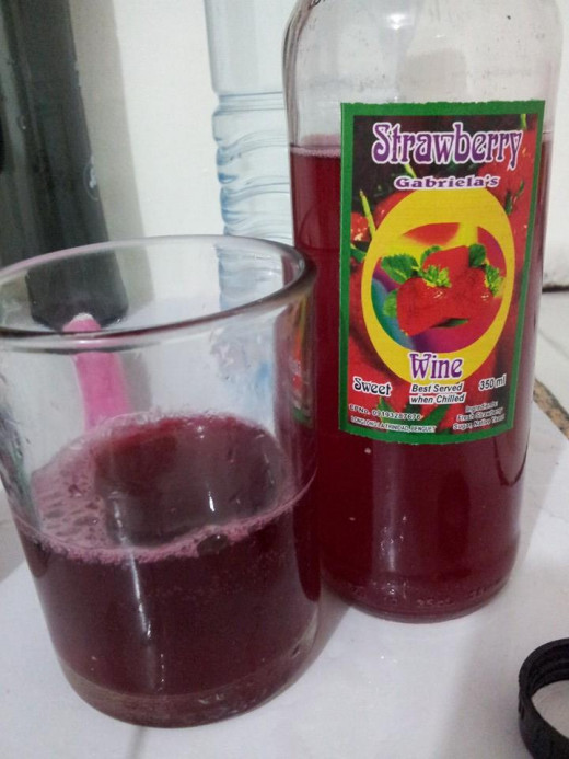 I find the strawberry wine very tasty! I drink one bottle before hitting the sack for 3 consecutive nights.
