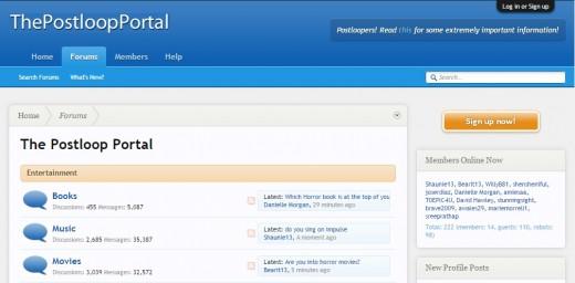 The Postloop Portal