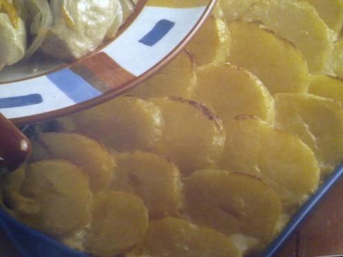 Baked Golden Top Turkey and Hampie