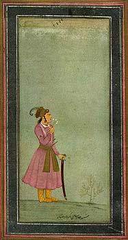 Akbar as a boy