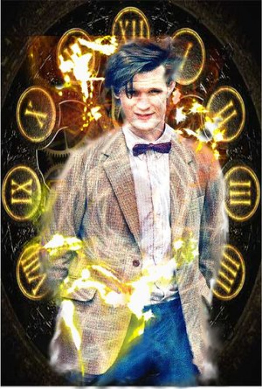 Matt Smith as the 11th Doctor
