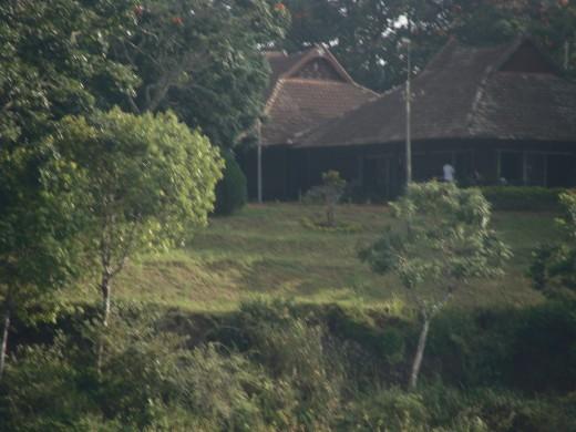 A small resort near the Lake of Thekkady