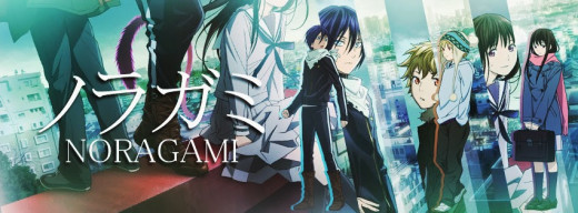 Top 10 Anime Series 2014; Noragami