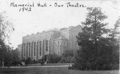War Memorial Hall, University of Guelph[1] when it was part of the Royal Canadian Air Force No. 4 Wireless School, Guelph, Ontario