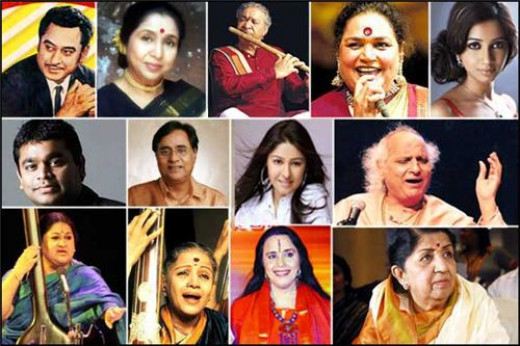 Melodious playback singers of India!