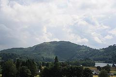 The view from Allan Bank Garden