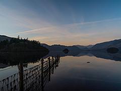 Derwentwater at sunrise
