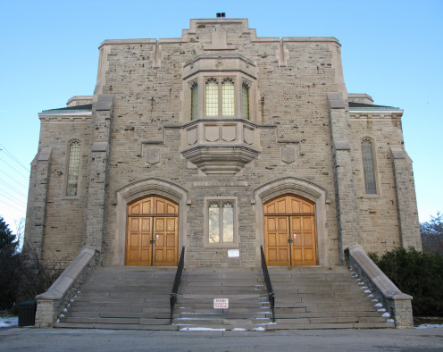 War Memorial Hall at the University of Guelph, Guelph, Ontario