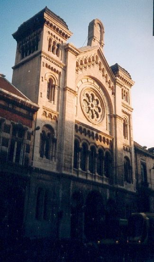 The Brussels Synagogue