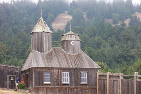 Russian Cathedral at Fort Ross