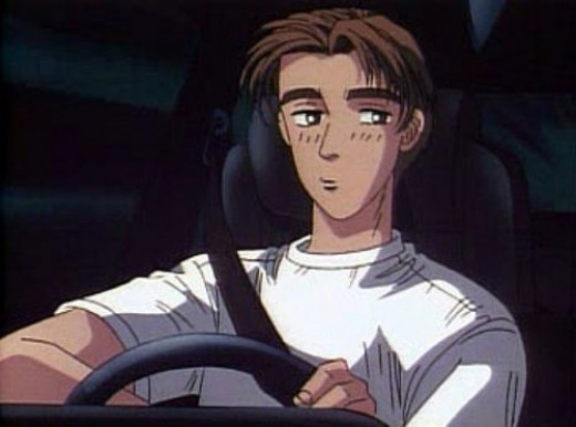 Takumi Fujiwara, from Initial D. SEGA currently holds the rights to produce Initial D games. Thankfully, Nintendo has a friendlier relationship with SEGA nowadays