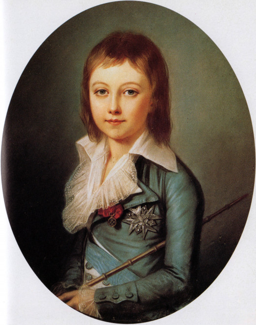 Louis Charles. Ill-fated son of Marie Antoinette