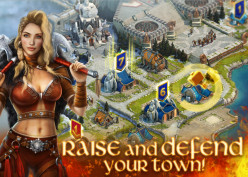 New strategy game Vikings: War of Clans for Android