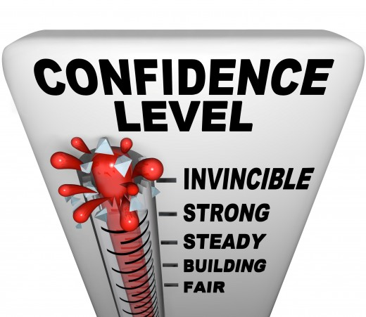 Increasing your confidence level