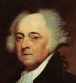 John Adams, the second President of the United States; father of John Quincy Adams, the sixth President.