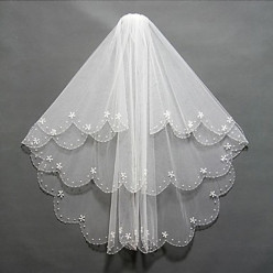 Bridal Veils and Headpieces with Beading