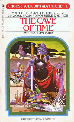 The first book in the Choose Your Own Adventure series.