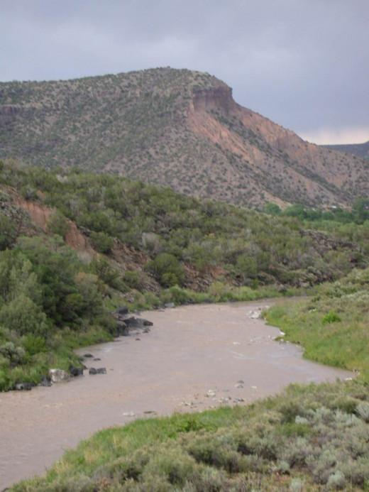 Near Santa Fe New mexico
